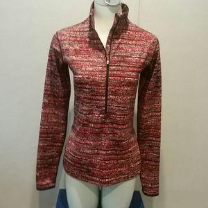Nike Half Zip Pullover, Med